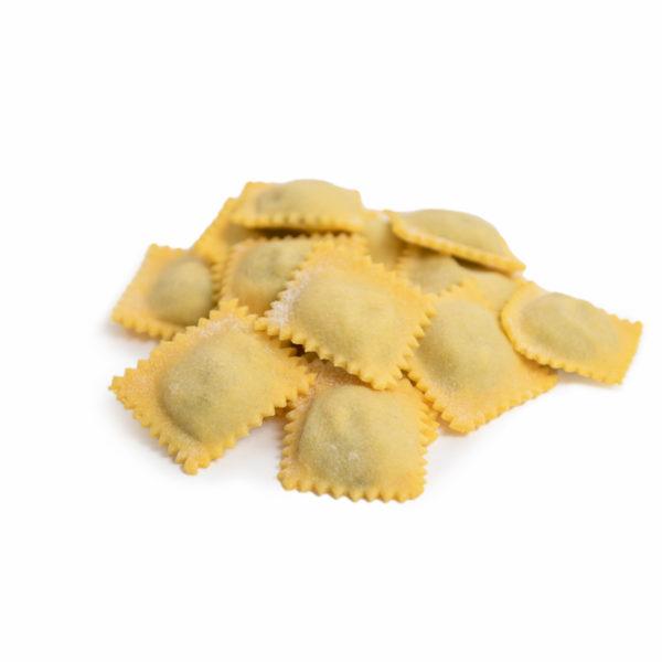 Ravioli ricotta e spinaci Genuyno Rimini pasta fresca artigianale